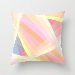 Abstract Geometric Shape Throw Pillow