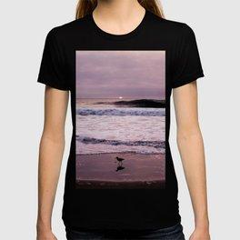Just walking on a sunset in Puerto Fiel beach - Peru #eclecticart T-shirt