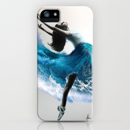 Wave Dance iPhone Case