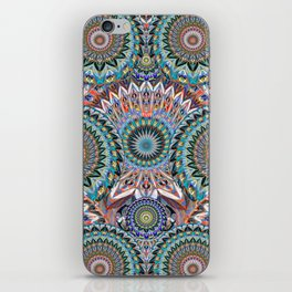 Deep Mind Healing Uplifting Mandala iPhone Skin