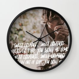 Harry Styles - Sweet Creature Wall Clock