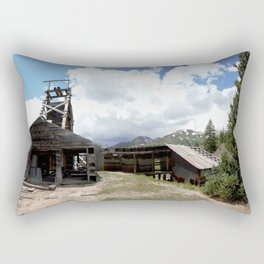 Exploring the Longfellow Mine of the Gold Rush - A Series, No. 1of 9 Rectangular Pillow