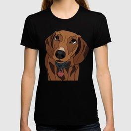 Mabel the mini Dachshund T-shirt