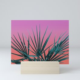 Pink Palm Life - Miami Vaporwave Mini Art Print