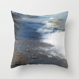 Toes In The Sand Throw Pillow
