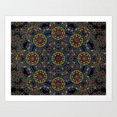 Kaleidoscope.  Art Print
