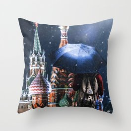 Star shower Throw Pillow