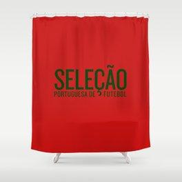 Euro 2016: Portugal Shower Curtain