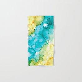 Blue Passing Through Hand & Bath Towel