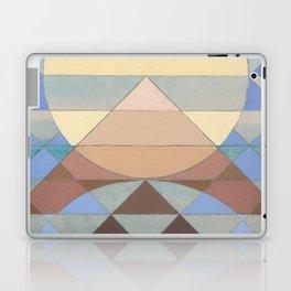 Pyramid Sun Turquoise Laptop & iPad Skin