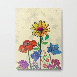 Flower Tales 5 Metal Print