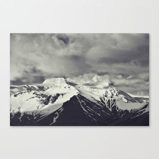 Cloudy Mountains IX Canvas Print