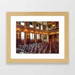 Faneuil Hall Framed Art Print