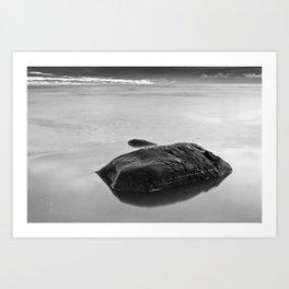 Silent Rocks Art Print