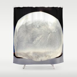 Frozen Bubble Shower Curtain