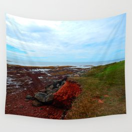 PEI Shoreline in Point Prim Wall Tapestry