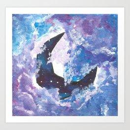 Luna Nova Art Print