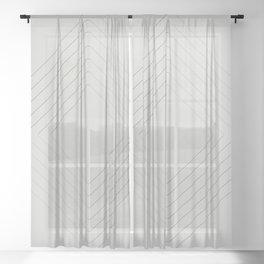 Celeste Diamonds Sheer Curtain