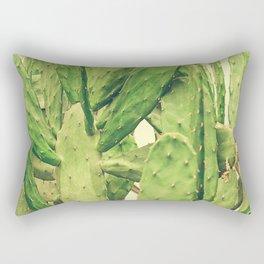 Southwest Desert Cactus Rectangular Pillow