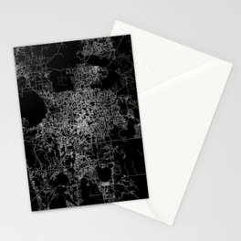 orlando map Stationery Cards