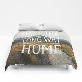 TAKE THE LONG WAY Comforters
