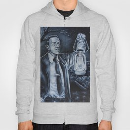 H.P.Lovecraft in Cemetery Hoody