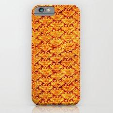 Digital knitting pattern iPhone 6s Slim Case