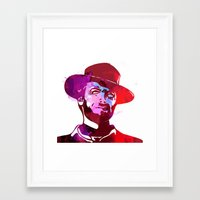 harry Framed Art Prints featuring Harry  by BIG Colours