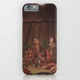 George Catlin - The Cutting Scene iPhone Case