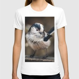 Fluffy The Long-Tailed Tit T-shirt