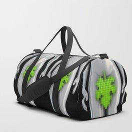 Digital Adam and Eve Duffle Bag