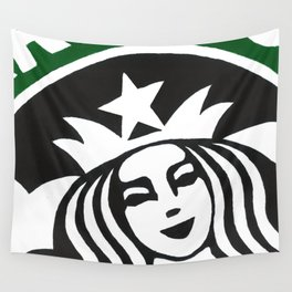 Starbucks Abstract Wall Tapestry