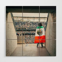 Mexican soccer Wood Wall Art