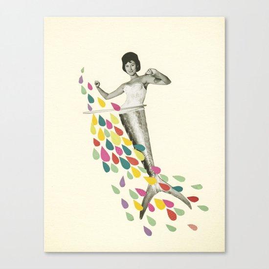 Follow Me : Pisces Canvas Print