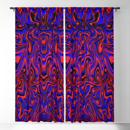 Fire and Water: Elemental Dance of Dualities Blackout Curtain