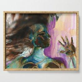 Earth Goddess No. 2 by Kathy Morton Stanion Serving Tray