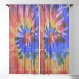 Tie-Dye #3 Sheer Curtain