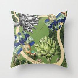 Garden III Throw Pillow