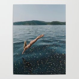 The dive Poster