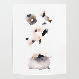 Temperance- 151124  Abstract Watercolour Poster