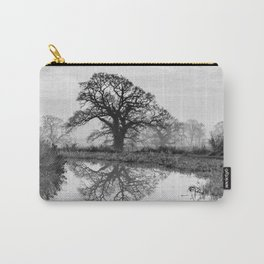 Reflection in the Bend Carry-All Pouch