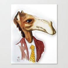 Mr. Camel Canvas Print