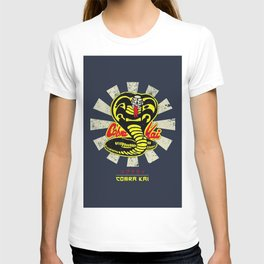 Karate Kid Cobra Kai Retro T-shirt