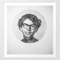 Claudette Colvin Watercolor Art Print