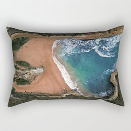 Loch Ard Gorge Beach Great Ocean Road Australia  Rectangular Pillow