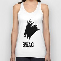 no face Tank Tops featuring FACE  by Robleedesigns