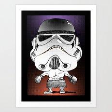 Pac-Trooper Art Print