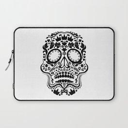 Travis Day of the Dead Skull Laptop Sleeve