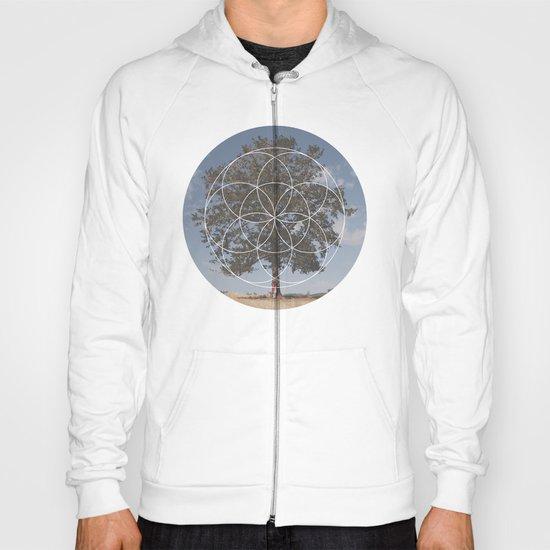 Free Tree Hugs - Geometric Photography Hoody
