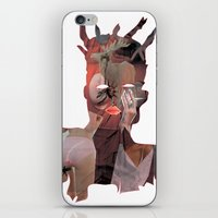 basquiat iPhone & iPod Skins featuring Basquiat by Stas Kravets (tomorrowfriday)